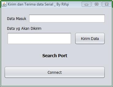java arduino serial port 1
